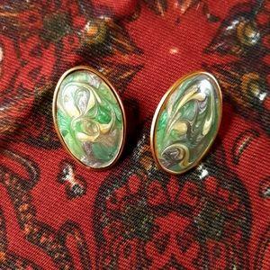 Swirly Vintage Earrings